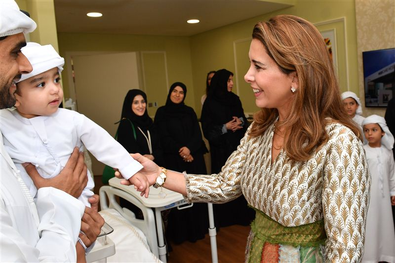 HRH Princess Haya and Her Children Donate $40 Million to Fight